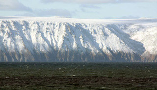 Little Diomede Island.