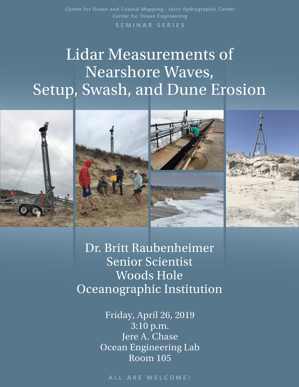 Lidar Measurements of Nearshore Waves, Setup, Swash, and