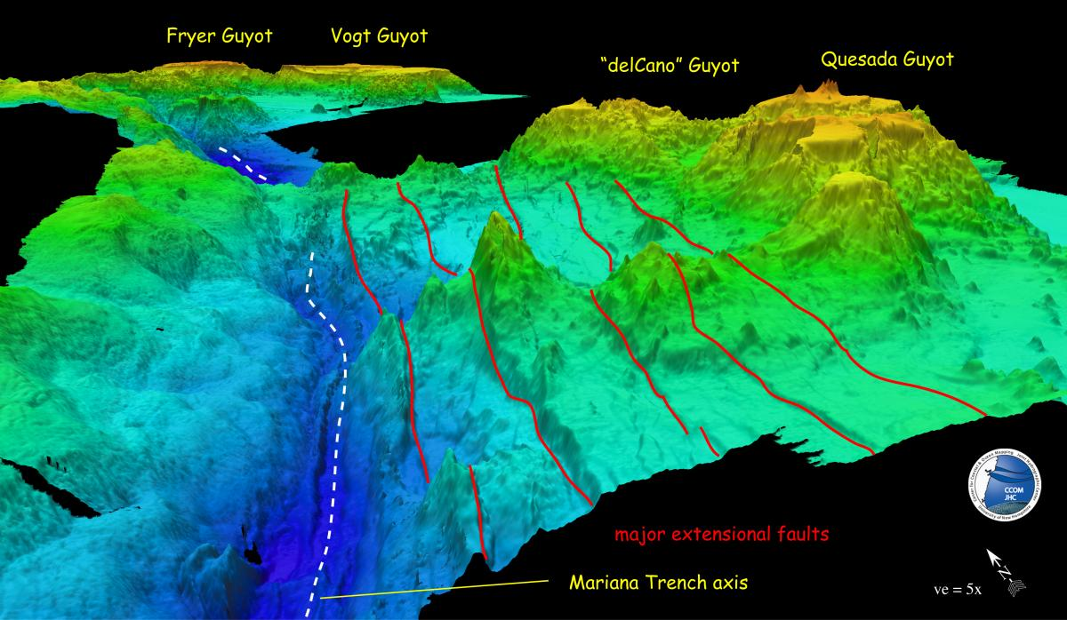 Scientists map mariana trench deepest known section of ocean in the scientists map mariana trench deepest known section of ocean in the world gumiabroncs Images